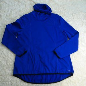 Champion Blue Duo Dry Turtleneck Pullover X-Large